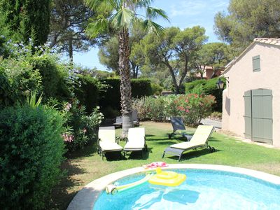Photo for Beautiful Villa 160m2 St Raphael (var) 4 bedrooms 10 people