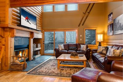 Living Room - Welcome to Park City! Your rental is professionally managed by TurnKey Vacation Rentals.