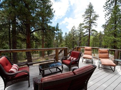 Photo for Luxury Mountain Home - Hot Tub, Fire Pit, Large Deck - 3 Miles to Purgatory