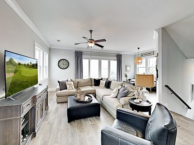 Living Area - Welcome to Myrtle Beach! This home is professionally managed by TurnKey Vacation Rentals.