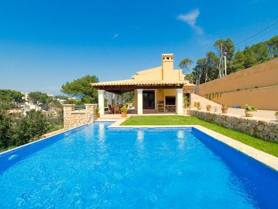 Photo for 3 bedroom Villa, sleeps 6 in Cala San Vicente with Pool, Air Con and WiFi