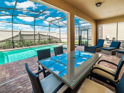 Photo for Gorgeous Resort Home, Minutes From Disney World, Private Pool/Hot Tub, Game Room, Amenities!