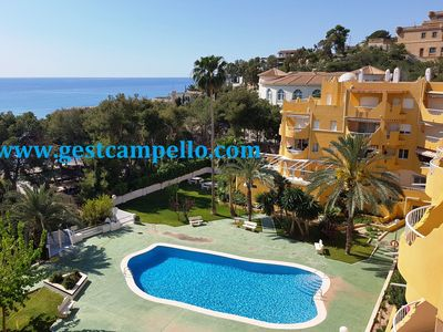 Photo for Apartment in Coveta Fuma with air-co. and pool. WIFI