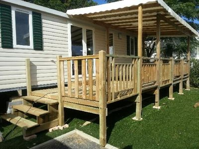 Photo for rental mobile home comfortable 6/8 pers