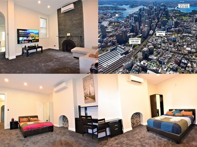 Photo for Massive 7 Bed $3 Million Mansion in the City Centre with a Home Cinema!