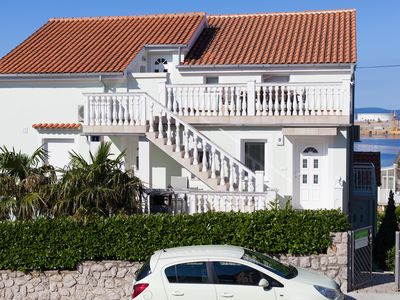 Photo for Family home, 70 m to the beach, clean sea, parking, new clean house