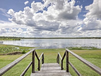 Photo for Lakefront Silver Springs Cabin- Great for Fishing!