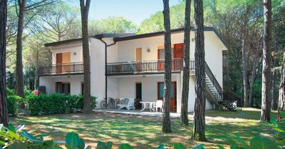 Photo for Holiday apartment in the green, dense pine forest