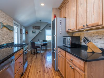 Photo for Luxury Suite w/Fireplace - Center of Town - Bike