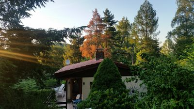 Photo for Thuringian mountain hut, holidays in the Thuringian Forest in idyllic surroundings