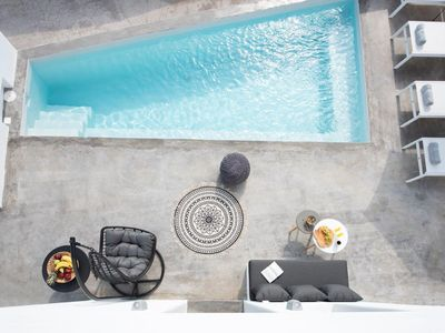 Photo for Luxury Cycladic House with Plunge Pool