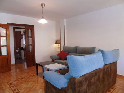 Photo for Concha del Mar apartment in Torre del Mar with WiFi, air conditioning, balcony & lift.