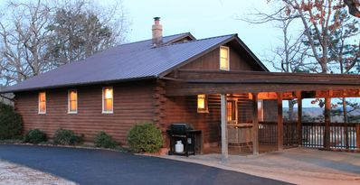 Photo for Log Cabin - Awesome Panaromic Lakeview, Pool Table, Kids Loft, Great Location!h