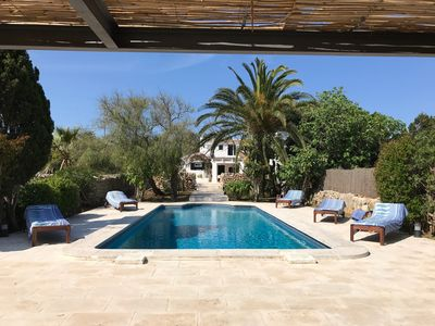 Photo for Menorcan old house style completely renovated with pool and garden