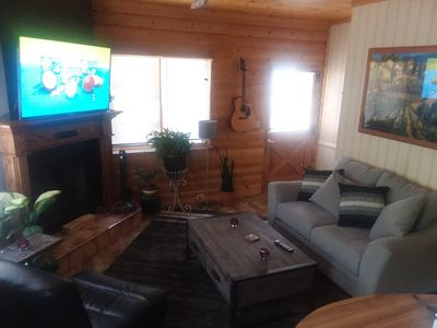 Photo for Unique cabin 5 minutes from Snow Valley Ski Resort