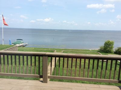 Photo for Beautiful newly renovated lakefront home with stunning views