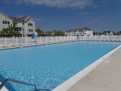 Photo for Beautiful Large & Clean Bottom Level Condo Sleeps 6 ONLY 2 Miles from the Beach w/ Pools