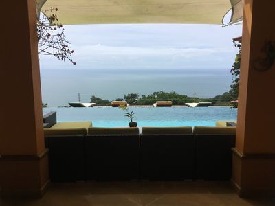 Photo for Luxury Estate, set in the jungle surrounded by nature with stunning ocean views