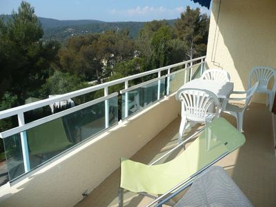 Photo for LA FAVIERE - Nice view, residence with swimming pool, 3 rooms