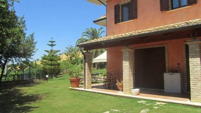 Photo for Smart villa in the country overlooking the Riviera delle Palme