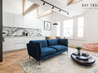 Photo for Newly renovated loft-style flat in Chelsea