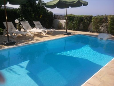 Photo for Beautiful Detached 3 bed luxury villa with private Pool & Garden with free Wi-Fi