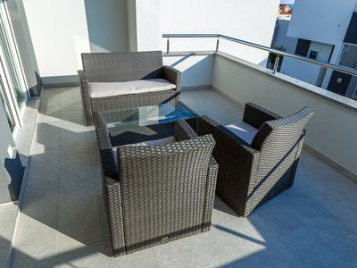 Photo for Luxury Duplex with Terrace and Partial Sea View