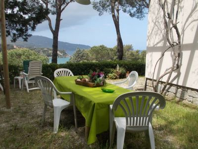 Photo for Lovely view of the Gulf of Procchio. Villa with 4 bedrooms and 2 bathrooms.