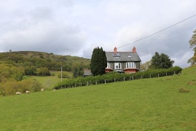 The house - viewed from the nearest property.