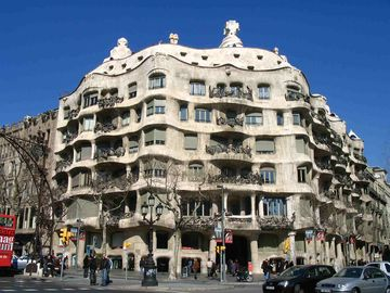 Bellesguard, Barcelona, Catalonia, Spain