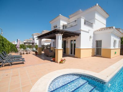 Photo for MurciaVacations - Villa with 3 bedrooms and private swimming pool - La Torre Golf BO1LT