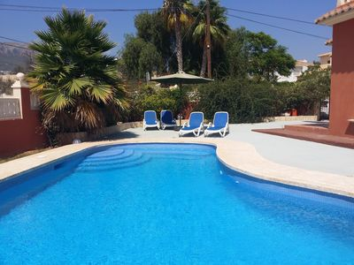 Photo for House with pool, large terrace and near the village