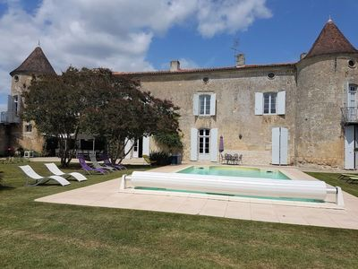 Photo for Vacation home Le Manoir Des Touches  in Gemozac, Poitou - Charentes - 14 persons, 6 bedrooms