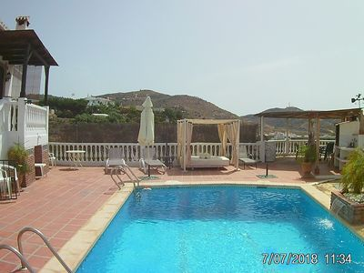 Photo for Torrox: GREAT VILLA VERY QUIET PLACE