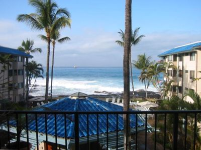 Photo for Kona Reef Luxury Oceanfront Condo-Great Location on Alii Drive