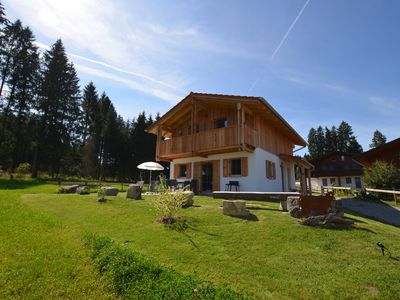 Photo for Holiday home Allgäu Gap, sauna, outskirts, fantastic view of mountains and Lechsee
