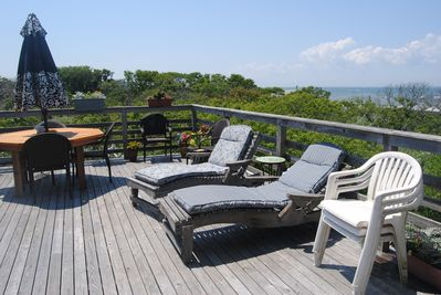Top deck overlooking the Great South Bay!