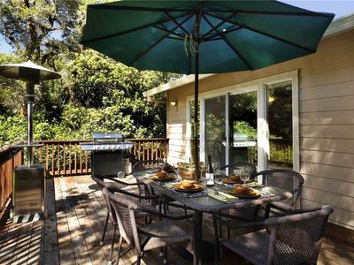 Photo for LUCKY BEND: Guerneville Riverfront | Gas Fireplace | Beach