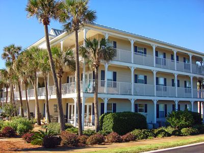 Photo for Aqua Ocean View- New king beds as of September 2019!  Beautiful two bedroom condo, steps to the beach, pool, and free wifi!!