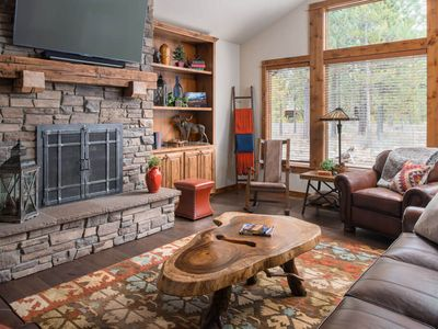 Photo for 38 Caldera Cabin: 4 BR / 5 BA cabin in Bend, Sleeps 10