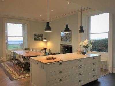 The heart of the home! The large kitchen table is perfect for entertaining.