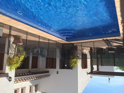 Photo for 4 bedroom villa , with heated pool near clubhouse and golf
