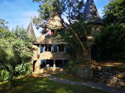 Photo for Cottage in the Moulin de Carné with heated pool in the Morbihan
