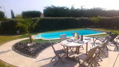 Photo for Favorite, Vendée villa 3 bed. 100m2 near an old mill with swimming pool