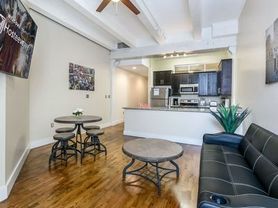 Photo for Gorgeous 1BR Condo Steps from French Quarter