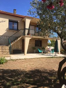 Photo for SETE rental 500 meters from the beaches, quiet residential area with trees.