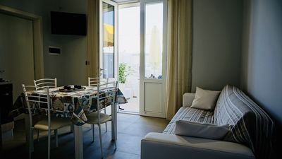 Photo for Two-room apartment in Torre Lapillo, new furniture