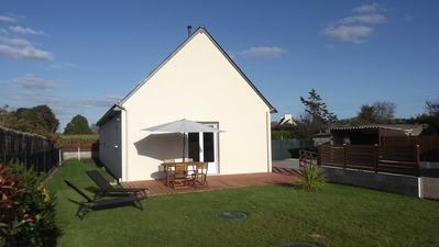 Photo for Holiday house, very recent, 10 minutes from the beaches by car