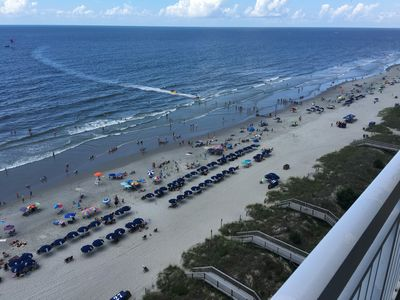 Photo for Luxury Ocean Front Corner Unit Free WiFi, 55' Big Screen Smart TVs, Tile floors