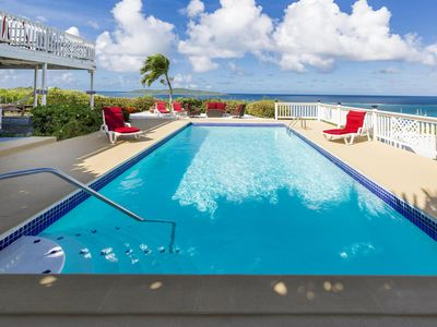 Photo for HGTV & People Magazine featured Villa! Large Pool & Best Ocean View on Isle!
